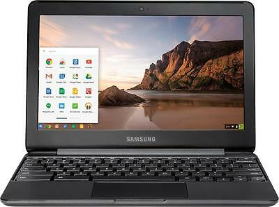 "Samsung - 11.6"" Chromebook - Intel Celeron - 4GB Memory - 32GB eMMC Flash Mem..."