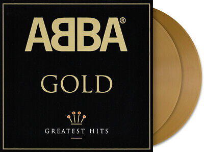 ABBA GOLD GREATEST HITS DOUBLE GOLD VINYL HMV EXCLUSIVE 2000 COPIES - SEALED !!
