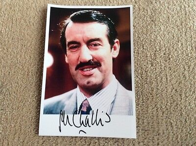 JOHN CHALLIS AS BOYCIE ONLY FOOLS AND HORSES PRE PRINT SIGNED CARD