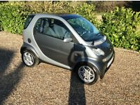SMART CITY-CABRIOLET PASSION SOFTOUCH 1 OWNER FSH (silver) 2004