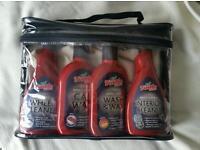Turtle Wax Valet Bag, car wash wax, interior, wheel cleaner