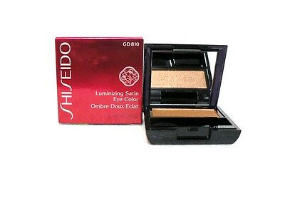 (SHISEIDO LUMINIZING SATIN EYE COLOR # GD 810 BULLION 2.0 g PRESSED POWDER NIB   )