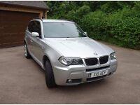 SILVER..BMW X3