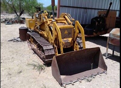 Mitsubishi Bs3 Track Loader Dozer. Diesel Engine Manual Transmission