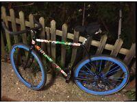 Columbus one speed road bike. Fixie.