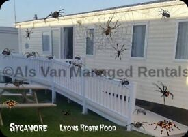 Sycamore Lyons Robin Hood Rhyl North Wales Sleeps 8 Max Dog