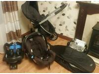 Graco 3 in 1 travel system pushchair