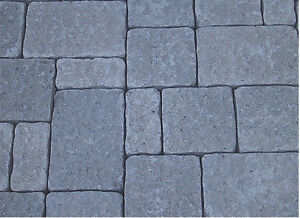 NEW CONCRETE MOLDS FORMS 3 Pc. Driveway Patio Pavers Wet Casting Stone Cement