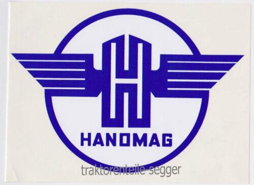 Aufkleber Sitzschale Hanomag R16 R19 R27 R35 R324 R435 Foto 1