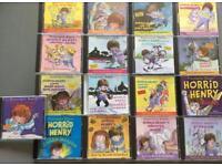 17 Horrid Henry CDs