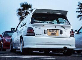 Toyota Starlet Glanza V. 301BHP. Forged. Modified. Not Evo/skyline/integra/civic.