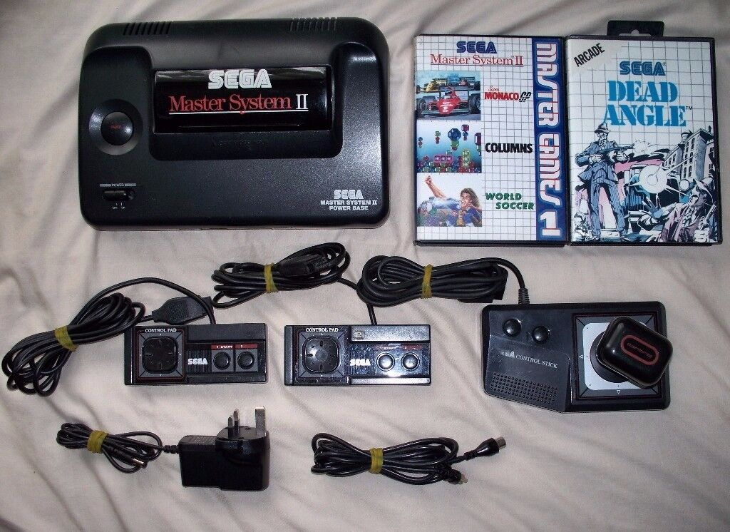 Sega master system 2 with 2 controllers joystick and games in gravesend kent gumtree - Console sega master system 2 ...
