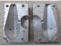Lead Weight Fishing Mold