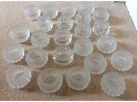 WEDDING DECORATIONS / 23 x TEA LIGHT HOLDERS