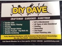 Gardening and Handyman available