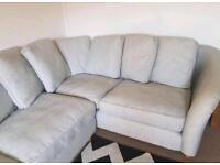 Grey DFS sofa - RRP: £1950