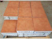 TILES JOBLOT 07: Anti-slip (R11) Indoor/outdoor quarry look 11mm thick porcelain tiles 30sqm
