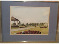 2 Framed Original Watercolour Paintings by local artist David Anthony of Ammanford and Llandybie