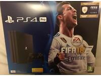 PS4 Pro, 1TB with FIFA 18