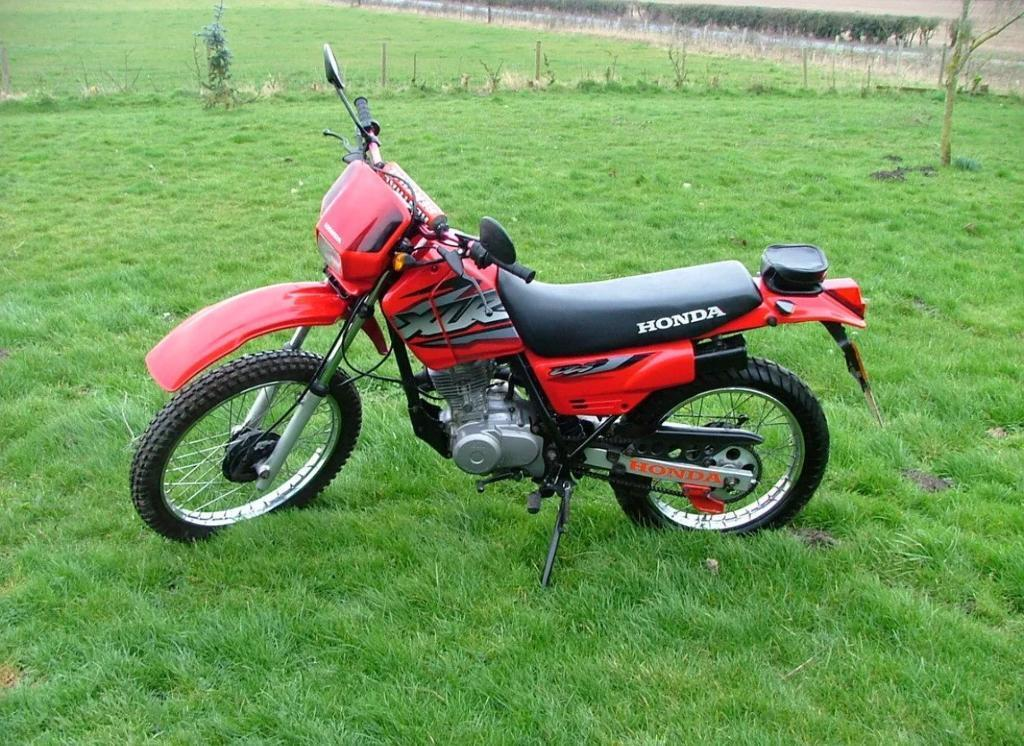 2003 honda xlr 125 low mileage in woodhall spa. Black Bedroom Furniture Sets. Home Design Ideas