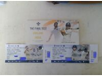 India vs England Oval test day 4 tickets