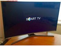 "CURVED 48"" SAMSUNG SMART -WIFI -800hz- LED TV - WARRANTY"