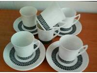 12 piece Fine Bone China Espresso Set