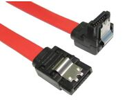 90cm-LOCKING-Right-Angle-SATA-Plug-To-Straight-SATA-Plug-Cable-Lead