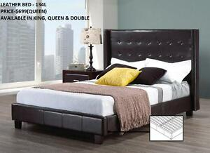 CLASSY LEATHER BEDS ON REDUCED PRICES (AD 111)