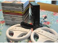 Nintendo Wii with games & controllers