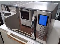 Next MICROWAVE OVEN in stainless steel, 900 watts