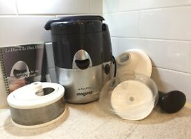 Magimix Le Duo Plus juice extractor & citrus press: aid to healthy eating