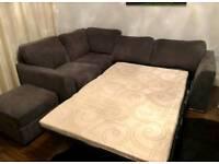 Corner sofa also sofabed