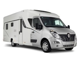"""LUNAR ROADSTAR TI """"LHD"""" FIXED REAR BED NEW ON RENAULT MASTER"""