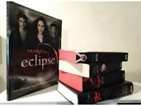 Twilight Books + Special Edition Red Edged books