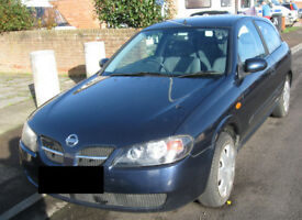 Nissan Almera 1.5 2005. Runs fine, MOT until 18 Jan. Selling as bought new car.