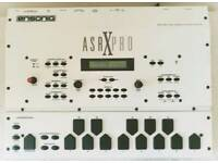 Ensoniq ASR X PRO Custom White Drum Machine