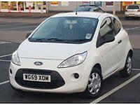 *New Model* 2010 Ford KA 1.2 Studio HPi Clear, 2 Keys like Mazda 2, Vauxhall Corsa, Mini, VW POLO