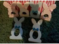 Cream eggs bunnies