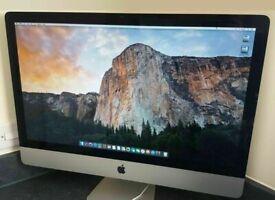 Apple iMac 27' 3.2Ghz Core i3 16GB Ram 1TB HDD Final Cut Pro X Adobe Premiere After Effects