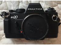 Praktica BX20 SLR camera body