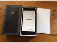 IPhone 8 Plus space grey 64gb unlocked mint condition