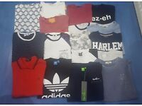 17 mens / boys tshirt fred perry addidas gio goi