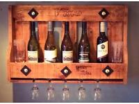 Rustic Wine Rack