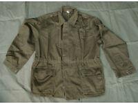 Rare - Olive Drab, Serbian Army Field Jacket, (super grade next to new)