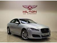 JAGUAR XF 2.2 D R-SPORT 4d AUTO 200 BHP + 1 PREV OWNER FROM NEW (silver) 2014
