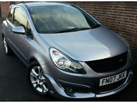 2007 VAUXHALL CORSA SXI 1.2 PETROL,IRMSCHER BODY KIT,ONE OWNER FROM NEW, VERY LOW MILEAGE, GOOD COND