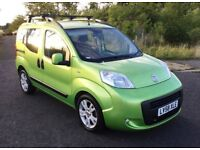 2008 Fiat Qubo 1.3 diesel sports utility vehicle, 100k Acid green metallic, history,mot JUNE 2019 !!