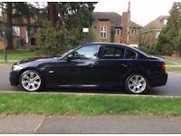 BMW 3 SERIES M SPORT , BLACK , VERY ECONOMICAL ,