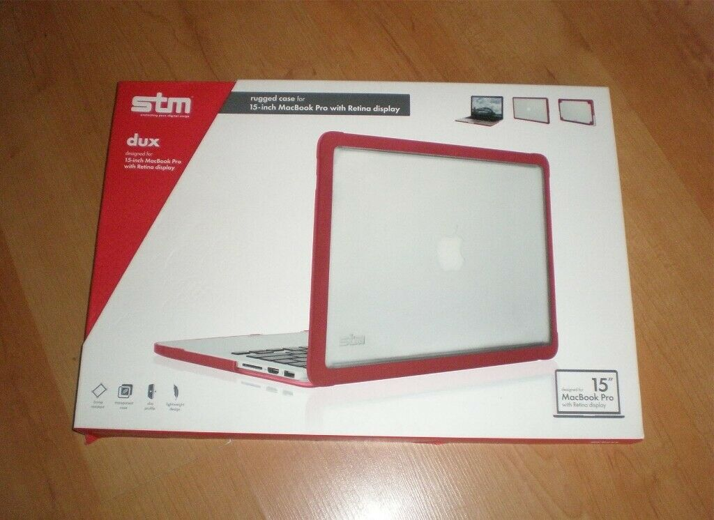 huge discount 76be5 6550f STM Dux - Rugged Case for 15-inch MacBook Pro with Retina display | in  Islington, London | Gumtree